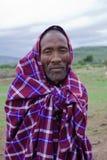 Afrikaanse Mens, Masai Mara, Kenia Royalty-vrije Stock Foto's