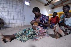 Afrikaanse Moeder Stock Afbeelding