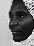 Afrikaanse moslim royalty-vrije stock foto's