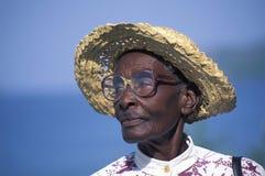 Afrikaanse nakomeling, Trinidad Stock Foto