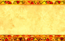 Afrikaanse nationale patronen Stock Afbeelding