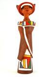 Afrikaanse pop Ndebele Stock Afbeeldingen