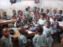 Afrikaanse school Royalty-vrije Stock Foto