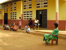 Afrikaanse school stock afbeeldingen