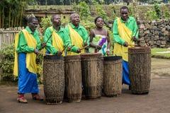 Afrikaanse Slagwerkers Stock Foto's