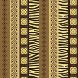 Afrikaanse stijlachtergrond Stock Foto's