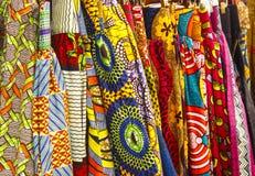 Afrikaanse stof Royalty-vrije Stock Afbeeldingen