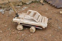 Afrikaanse stuk speelgoed auto Royalty-vrije Stock Foto