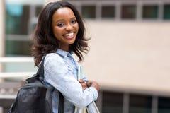 Afrikaanse Universitaire Student Stock Fotou0027s