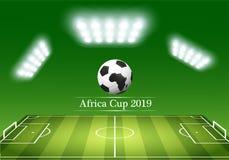 Afrikaanse van Egypte Oeganda van 2019 vectorillustratie als achtergrond - Beelden vectorielles stock illustratie