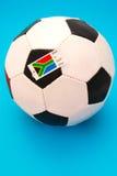 Afrikaanse voetbal Royalty-vrije Stock Afbeelding
