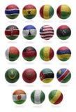 Afrikaanse Voetbal van G aan R Royalty-vrije Stock Foto
