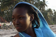 Afrikaanse Vrouw royalty-vrije stock foto's