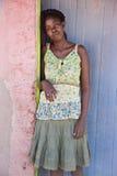 Afrikaanse vrouw Royalty-vrije Stock Afbeeldingen