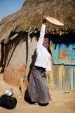 Afrikaanse vrouw stock fotografie