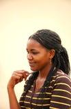 Afrikaanse vrouwelijke student Royalty-vrije Stock Afbeeldingen