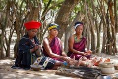 Afrikaanse vrouwen Royalty-vrije Stock Fotografie