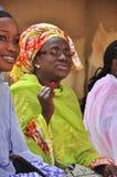 Afrikaanse vrouwen die, Senegal 2012 stemden Stock Afbeeldingen