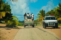 Afrikaanse weg Royalty-vrije Stock Afbeelding