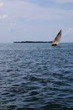 Afrikaanse zeilboot Royalty-vrije Stock Foto's