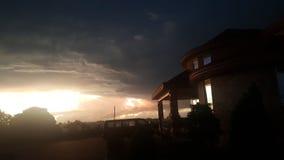 Afrikaanse zonsopgang royalty-vrije stock afbeeldingen