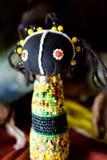 Afrikaanse zulu pop stock afbeelding
