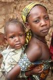 Afrikaanse zusters royalty-vrije stock foto's