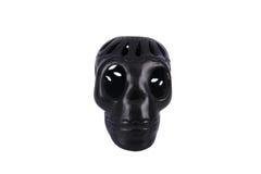 Afrikaanse zwarte schedel Royalty-vrije Stock Afbeeldingen