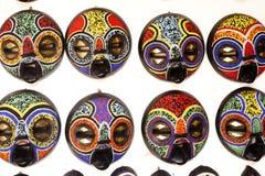 Afrikan Art Display Arkivbilder