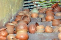 Afrikan style. Many afrikan style handicrafts keramik Royalty Free Stock Photos