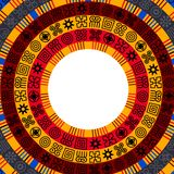 AfrikanAdinkra bakgrund stock illustrationer