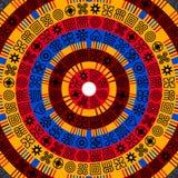 AfrikanAdinkra bakgrund royaltyfri illustrationer