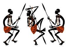 Afrikanen Stock Afbeeldingen