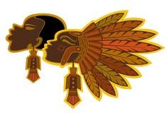 Afrikanen vector illustratie