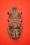 Afrikanen maskerar Arkivfoton