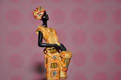 Afrikanerin-Statue lizenzfreies stockbild