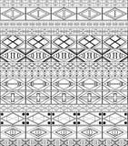 Afrikanisch-Stammes-Kunst Muster vektor abbildung