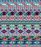 Afrikanisch-Stammes-Kunst Muster stock abbildung