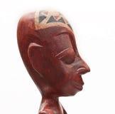 Afrikanische Andenken. Mannkopf. Stockbilder