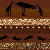 Afrikanische Art Nahtloses Muster Stockfoto