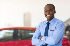 Afrikanische Autoverkäufe stockfoto
