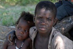 Afrikanische Brüder Stockfotos
