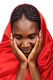 Afrikanische christliche Frau Lizenzfreie Stockbilder