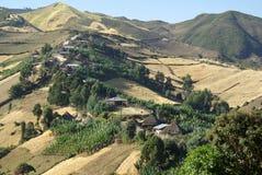 Afrikanische Dörfer Lizenzfreie Stockfotos