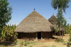 Afrikanische Dörfer Lizenzfreies Stockfoto