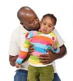 Afrikanische Familie lizenzfreies stockfoto