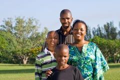 Afrikanische Familie Stockbild