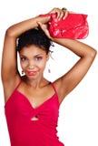 Afrikanische Frau. stockfotografie