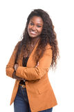 Afrikanische Frau Stockfotografie