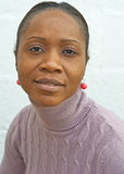 Afrikanische Frau von Angola. Lizenzfreies Stockbild